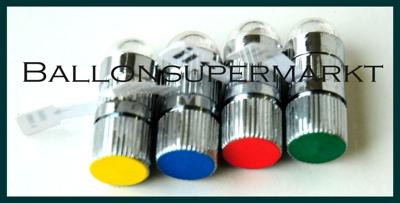 Ballon Blinker, blinkende LED Leuchten für Luftballons in verschiedenen Farben